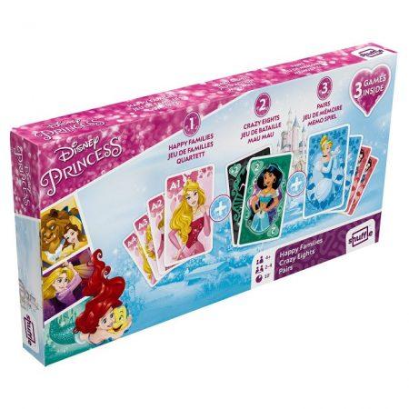 Disney Hercegnők 3 kártyajáték díszdobozban -  Cartamundi
