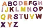 Kreatív matrica EVA betűk/számok