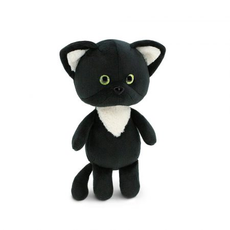 Plüss cica Black Kitty - Mini Twini - Orange Toys