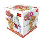 Négy évszak puzzle 60 db-os kocka dobozban Trefl