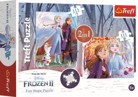 Jégvarázs 2 2in1 Fun Shape puzzle Trefl