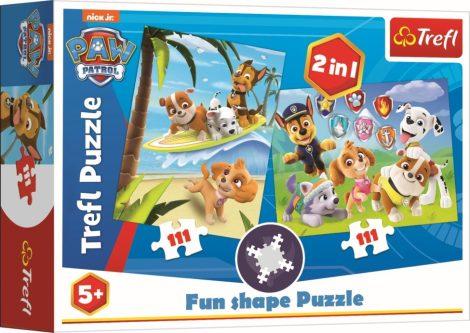 Mancs őrjárat 2in1 Fun Shape puzzle Trefl