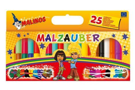 Malinos Varázsfilc 25 db-os 21 szín +4 fehér