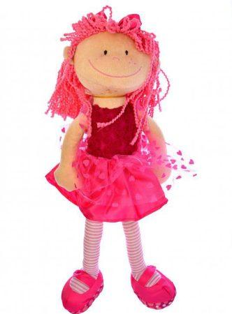 Rongybaba, rózsaszín balerina 45 cm