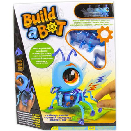 BUILD A BOT hangya építhető interaktív játék robot