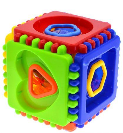 Bébi ügyességi formabedobó kocka