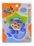 Bébi csörgő majom figura 16x20 cm