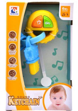 Sound Kaychain Funkciós játék sluszkulcs babáknak
