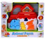 Animal Farm Baby Toy - Állathangos zenélő baba játék 2 féle
