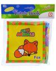 Baba könyv textilből állatokkal