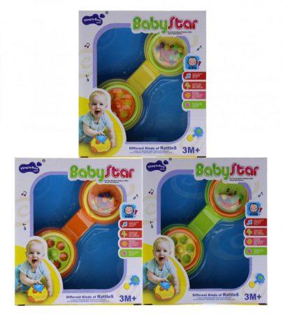 Csörgő játék telefon babáknak