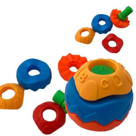 Labdaépítő játék, hullámos