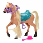 Játék fésülhető ló figura
