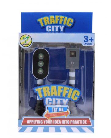 Játék Közlekedési lámpa és traffipax