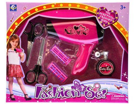 Fashion Set Játék fodrász készlet Dobozban