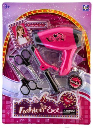 Fashion Set Játék fodrász készlet lapon