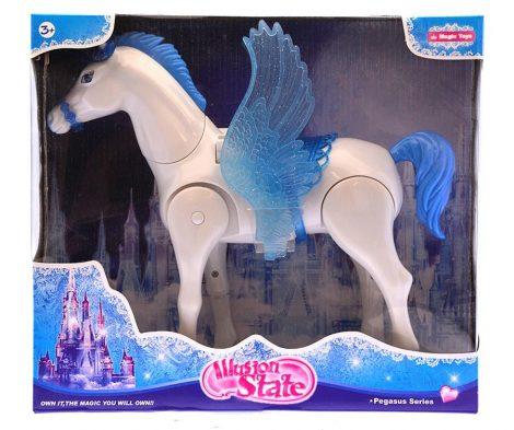 Játék pegazus ló figura