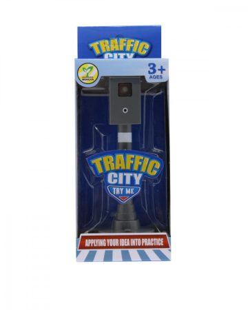 Játék Traffipax és közlekedési lámpa