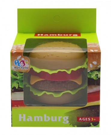 Játék hamburger készítő készlet
