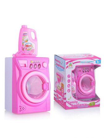 Játék mosógép kiegészítőkkel