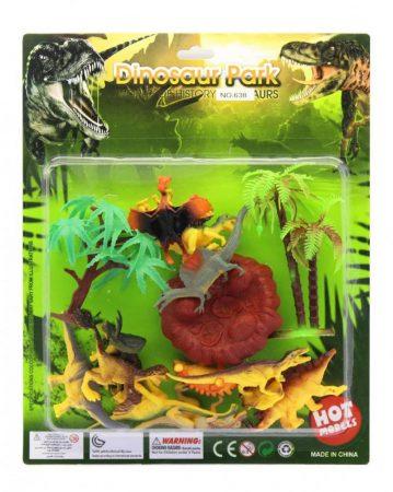 Játék dinoszaurusz készlet