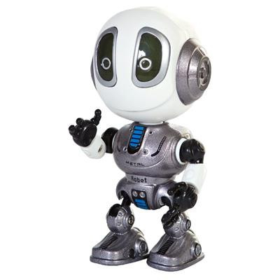 Beszélő robot mozgatható végtagokkal 3 féle színben