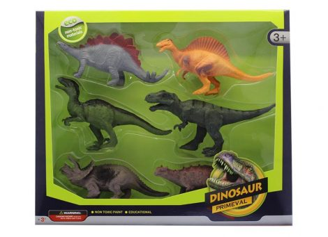 Játék dinoszaurusz készlet 6 db-os