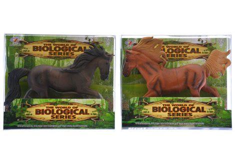Játék ló figura 2 féle több színben