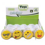 Yo-yo smiley mintával LED világítással