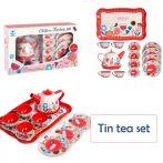 Children's Tin tea set - Játék teás készlet fémből