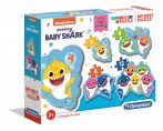 Baby Shark - My First Puzzle 3-6-9-12 - Clementoni