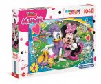 Minnie egér - Puzzle 104 db MAXI - Clementoni