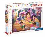 Pizsiparty - Puzzle 24 db-os MAXI - Clementoni