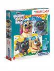 PUPPY DOG PALS - 2x20 puzzle - Clementoni