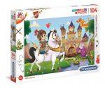 The Magic Kingdom - 104 db-os puzzle - Clementoni