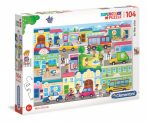In the City - 104 db-os puzzle - Clementoni