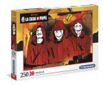 La Casa De Papel - A nagy pénzrablás 250 db-os puzzle - Clementoni