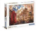 High Quality Collection - Vintage London 1500 db-os puzzle - Clementoni