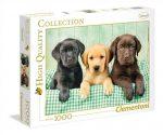 High Quality Collection - Labrador kiskutyák 1000 db-os puzzle - Clementoni