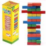 Leboruló fatorony - fa játék
