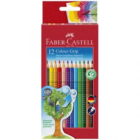 Grip Aquarell Színesceruza 12db Faber-Castell