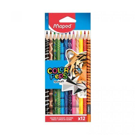 Color Peps Animal Színesceruza készlet állatmintás 12 db Maped