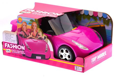 Játék autó Barbie babához