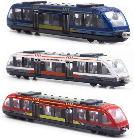 Játék vonat, mozdony 4 féle szín