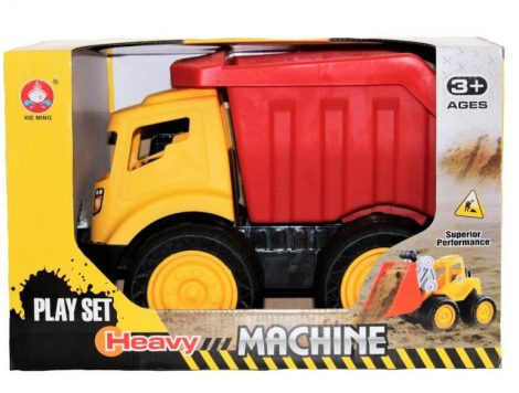 Játék dömper homokozáshoz - Billencs teherautó