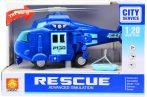 Játék rendőrségi helikopter elemes