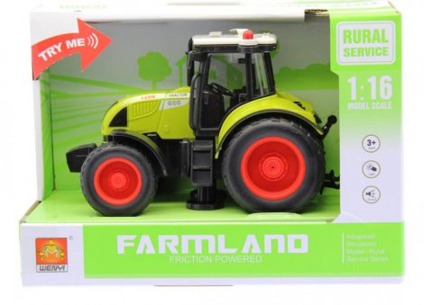 Játék traktor elemes