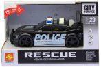 Játék rendőrautó elemes