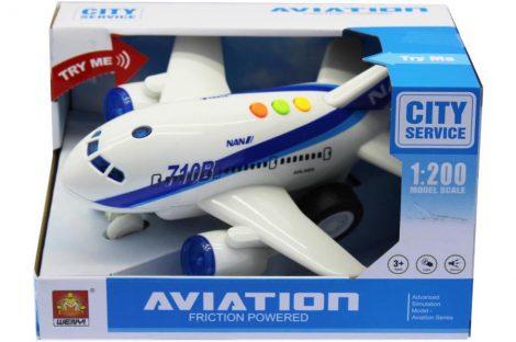 City Service játék repülőgép