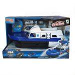 Elektromos játék hajó - Rendőrségi járműszállító